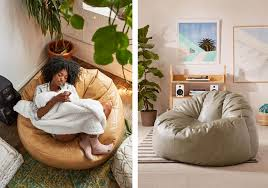 Bean Bag Armchairs Trend Report Bean Bag Chairs Are Cool Again