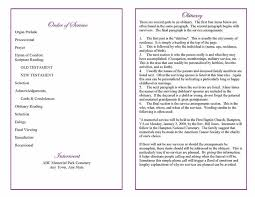 exles of funeral programs amazing template for program contemporary themes ideas