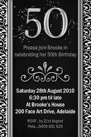 50th birthday invitation ideas for men a birthday cake