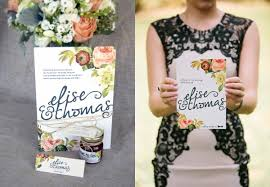 diy wedding invitations floral creative market