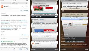 com website how to use tabs and browsing in safari for iphone and