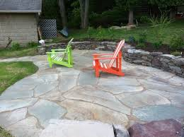 Irregular Stone Patio Aspinall U0027s Landscaping Concrete Paver And Natural Stone Patios