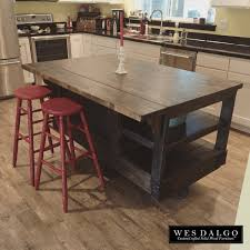 rustic kitchen islands and carts distressed wood modern rustic kitchen island cart with