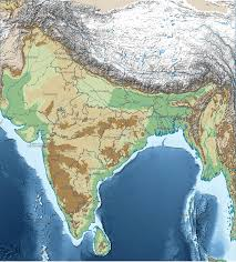 Map India Topographical Map Of India Topographic Map