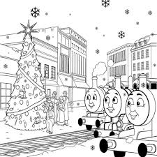 thomas train coloring pages printable free emily train