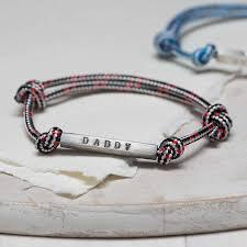 metal rope bracelet images Men 39 s id bead rope bracelet by chambers beau jpg