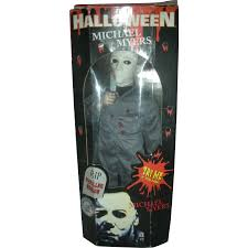 vintage halloween micheal myers musical halloween movie doll or