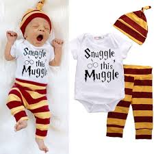 new year baby clothes harry potter snuggle this muggle 3 set harry potter