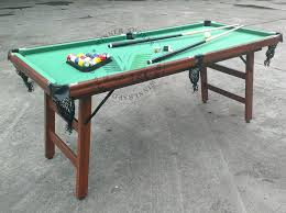 pool table pocket size pool tables without pockets inch folding pool table table family