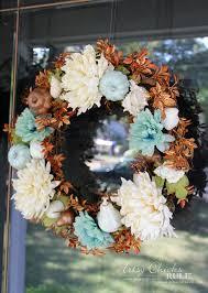 simple coastal fall wreath artsy rule