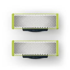 le de bureau philips philips qp220 50 lames de remplacement x2 oneblade durent jusqu à