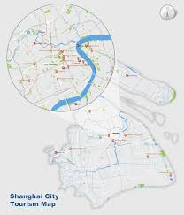 China River Map by Shanghai Map Map Of Shanghai U0027s Tourist Attractions And Subway