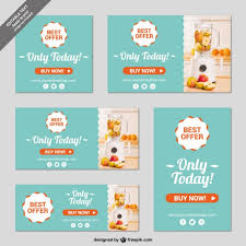 online shop banner templates vector free download