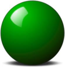 clipart green snooker