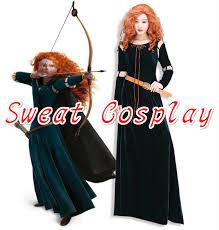 Merida Halloween Costume Cheap Merida Princess Dress Aliexpress Alibaba Group