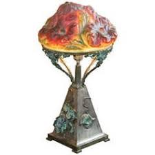 pairpoint ls for sale antique austrian bronze art nouveau deco owl glass jeweled arts and
