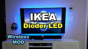 Wireless Led Strip Lights by Ikea Dioder Wireless Hack Mod Led Strip Lights Backlight Tv