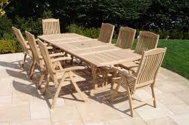 royal teak 9 piece dining set u0026 reviews wayfair