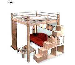 lit mezzanine avec bureau int r lit 1 personne mezzanine lit mezzanine ikea 1 place loft beds bunk
