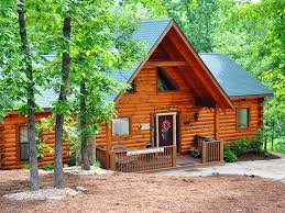 amazing wood log cabin pvt tub in woods homeaway branson