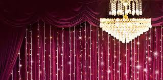 curtain lights led curtain backdrops for weddings and events