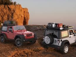 jeep wrangler cargo trailer jeep wrangler jk 1 2 size roof rack front runner free shipping