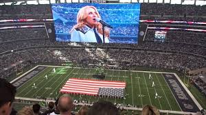 us national anthem eagles vs cowboys thanksgiving day 2014