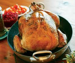 brined roast turkey with butter rub recipe finecooking