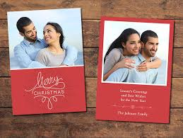 classic christmas card template photographypla net