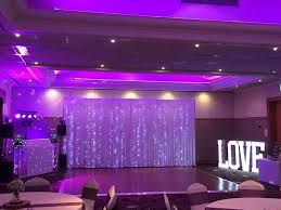 wedding venue backdrop 15 best wedding venue dressing by northwest letter lights images