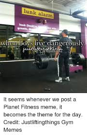 Gym Memes Tumblr - lunk alarm hunk aank one who when boys live dangerously tumblr com