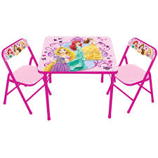 Outdoor Childrens Table And Chairs Disney Princess The True Princess Within Activity Table Set