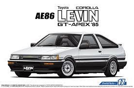 amazon com aoshima bunka kyozai 1 24 cars series no 17 toyota