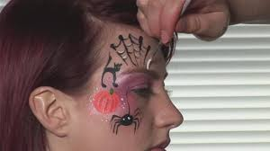 how to face paint for halloween video dailymotion