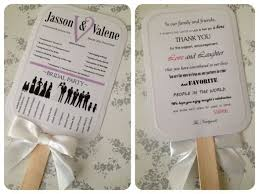 how to make wedding fan programs best 25 diy wedding program fans ideas on