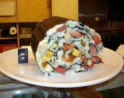 the world s largest sushi roll