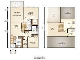 2 bedroom with loft house plans house plan bedroom with loft plans nrtradiantcom split six cabin