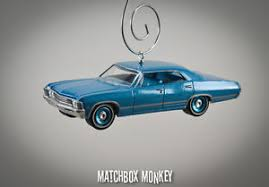67 chevy impala sport sedan custom ornament 1 64