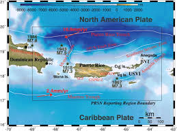 Where Is Puerto Rico On The Map by The Current State Of Seismic Monitoring In Puerto Rico