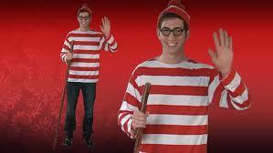 Red Shirt Halloween Costume U0027s Waldo Costume U2013 Exclusive Sizes
