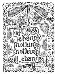 printable coloring quote pages for adults ideas free printable quote coloring pages for adults for 5 pages