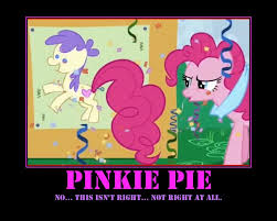 Pinkie Pie Meme - image 321309 pinkie pie breaking the 4th wall know your meme