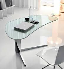 Glass Office Desk Furniture Modern Office Desk Designs With Professional Style