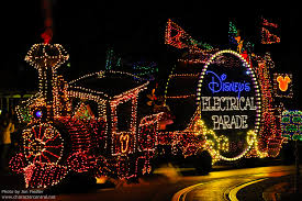 disney world light parade disney s electrical parade at disney character central