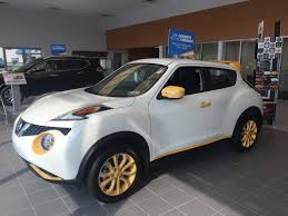 nissan juke yellow interior the nissan juke sure is sharp this one is decked out in yellow