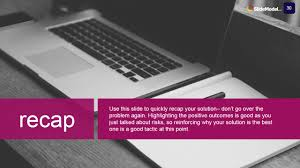 Business Case Powerpoint Template Case Study Recap Slide Slidemodel