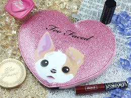 too faced x kat von d cheek u0026 lip makeup bag set review and