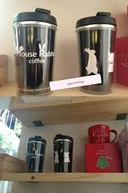 rabbit merchandise 121227 mouse rabbit new merchandise black tumbler 18 000won