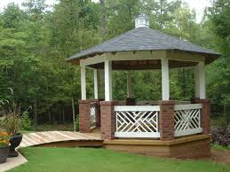 Wood Gazebo Design by What Is Knee Wall Railing And Why Would I Want It St Louis