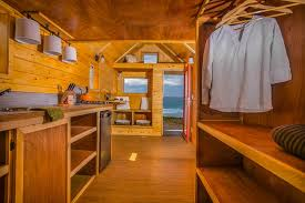 the half half tiny house is a highly insulated home